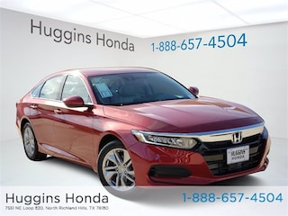 New 2020 Honda Accord LX 1.5T Sedan LA097138 for sale near Fort Worth TX