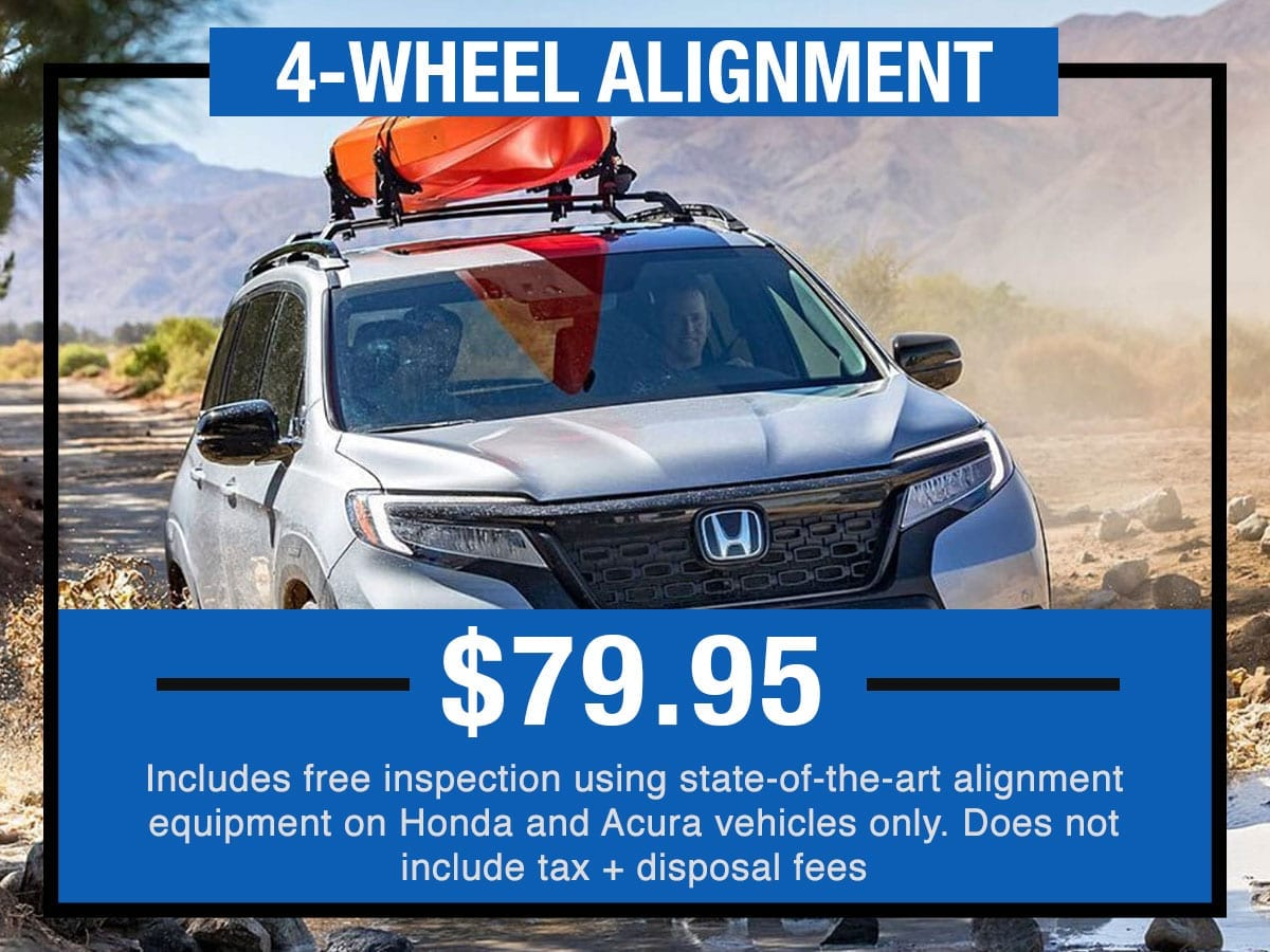 Honda Four Wheel Alignment Near Fort Worth TX