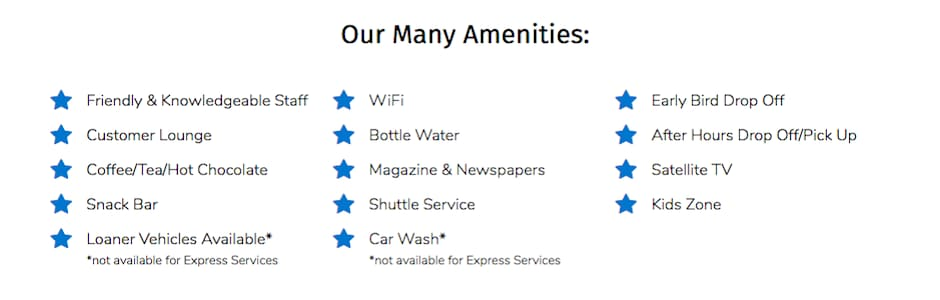 Honda Dealer Amenities Near Burleson TX