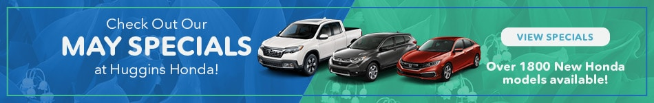 May 2019 Honda Monthly Specials