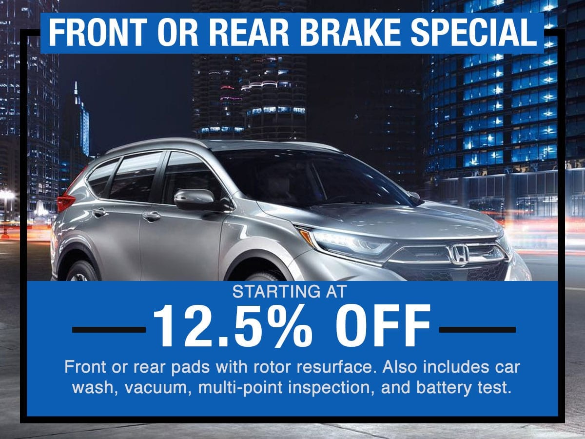 Honda  Brake Service Near Fort Worth TX