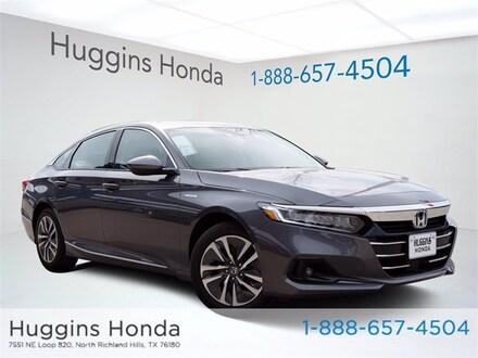 2021 Honda Accord Hybrid EX Sedan MA002575 for sale near Fort Worth TX
