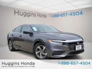 New 2019 Honda Insight EX Sedan KE032779 for sale near Fort Worth TX