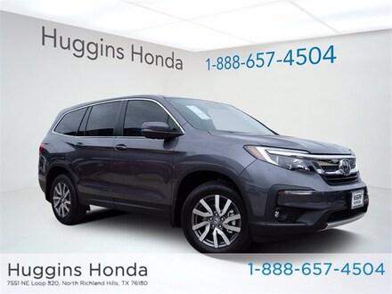 2021 Honda Pilot EX-L FWD SUV MB013908 for sale near Fort Worth TX