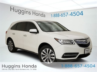 Used 2014 Acura MDX 3.5L Technology Pkg w/Entertainment Pkg SUV U012992A for sale near Fort Worth TX