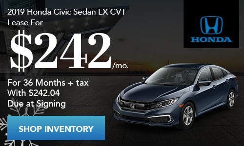 2019 Honda Civic Lease Near Fort Worth TX