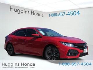 New 2019 Honda Civic EX Hatchback KU225319 for sale near Fort Worth TX