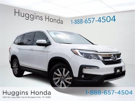 2021 Honda Pilot EX-L FWD SUV MB025685 for sale near Fort Worth TX