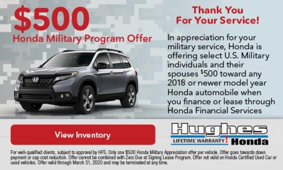 Honda Make A Payment >> Hughes Honda Honda Dealer In Warner Robins Ga Honda Service