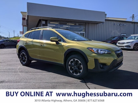Featured New 2021 Subaru Crosstrek Premium SUV for Sale or Lease in Athens GA