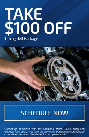Take $100 OFF Timing Belt Package