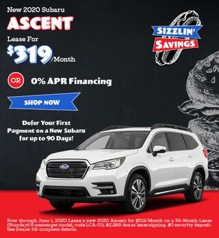 May - 2020 Subaru Ascent