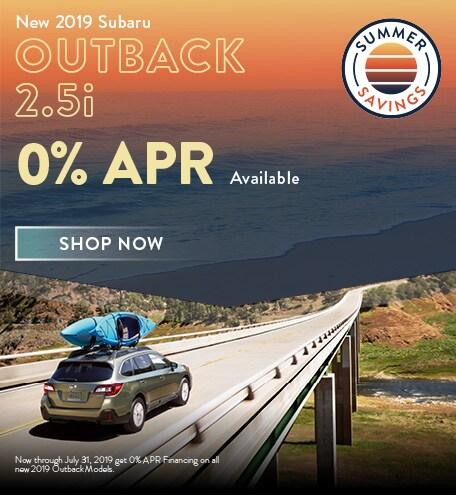 2019 Subaru Outback Offer