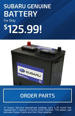 Subaru Genuine Battery