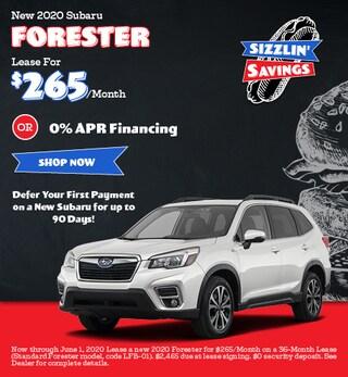 May - 2020 Subaru Forester