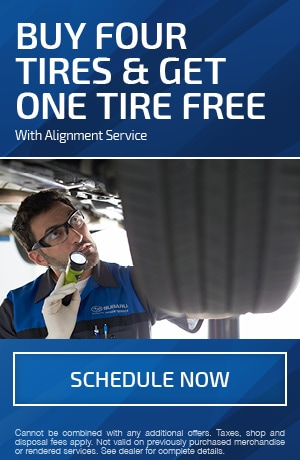Buy Four Tires & Get One Tire Free