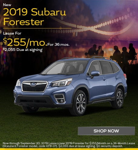 New 2019 Subaru Forester - September Special