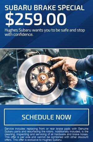 Subaru Brake Special $259.00