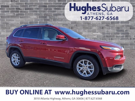 Featured Used  2015 Jeep Cherokee Latitude FWD SUV 1C4PJLCB0FW560813 for Sale in Athens, GA