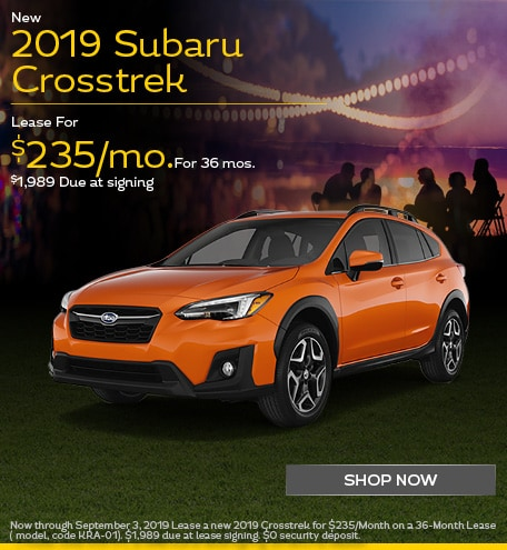New 2019 Crosstrek - September Special