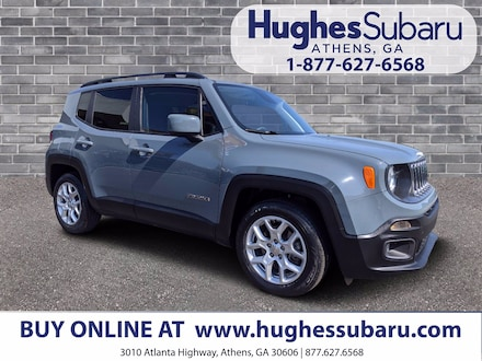 Featured Used  2018 Jeep Renegade Latitude FWD SUV ZACCJABB2JPJ37822 for Sale in Athens, GA