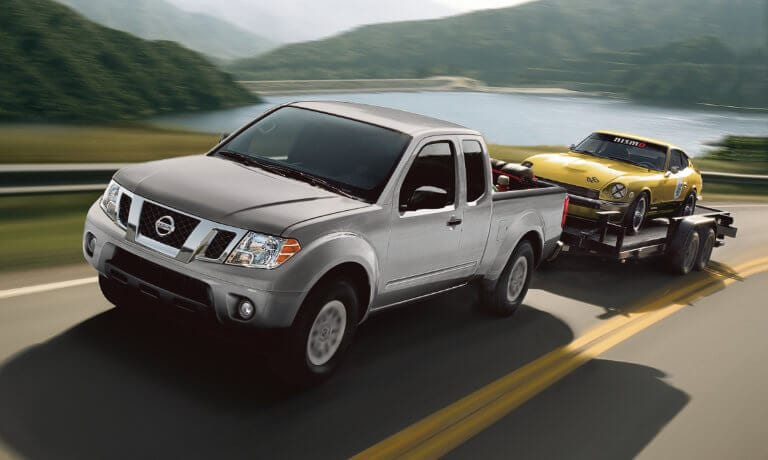 2021 Nissan Frontier exterior towing car