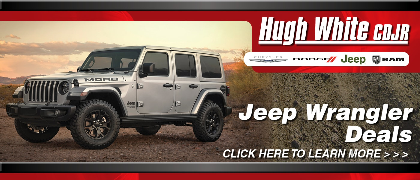 2020 Jeep Wrangler Deals banner