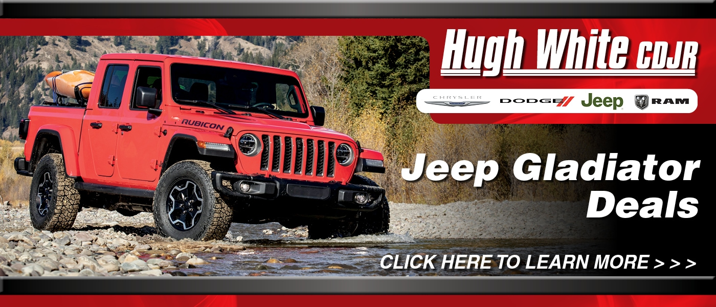 2020 Jeep Gladiator Deals banner