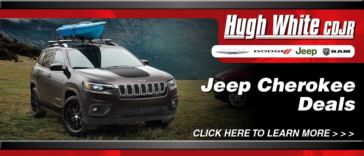 2020 Jeep Cherokee Deals banner