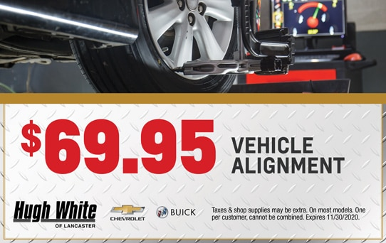 Vehicle Alignment Special | Hugh White Chevy Buick Lancaster, OH