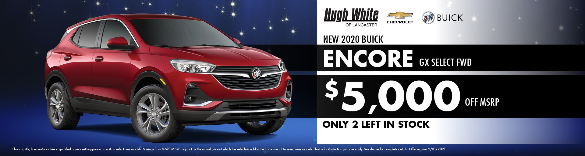 2020 Buick Encore Special Offer | Hugh White Chevy Buick Lancaster, OH
