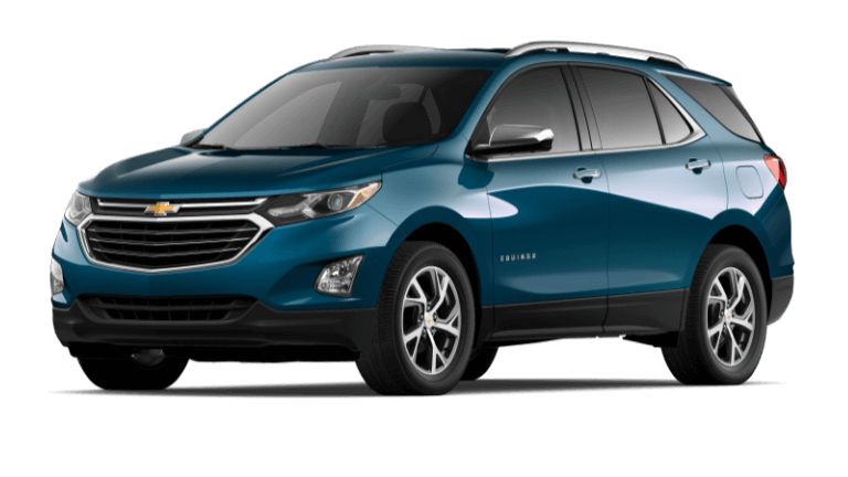 2021 Chevy Equinox Premier - Pacific Blue
