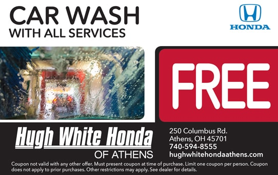 Free Car Wash With All Services