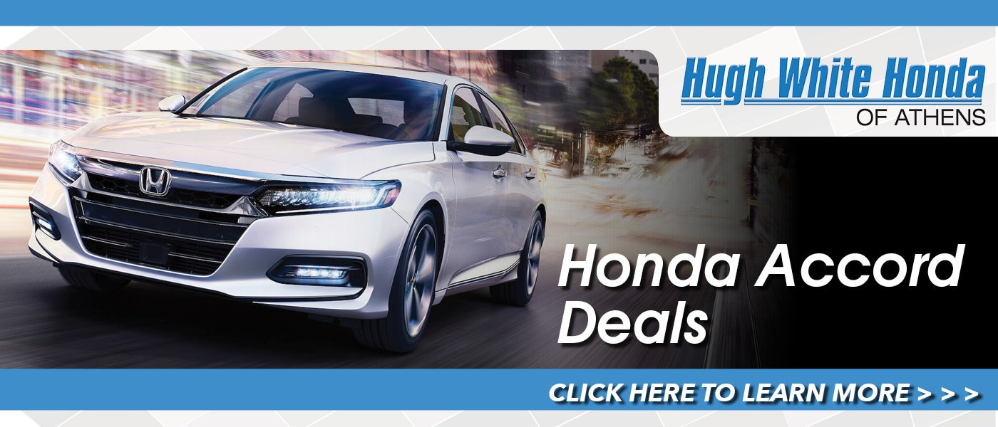 2020 Honda Accord Deals banner