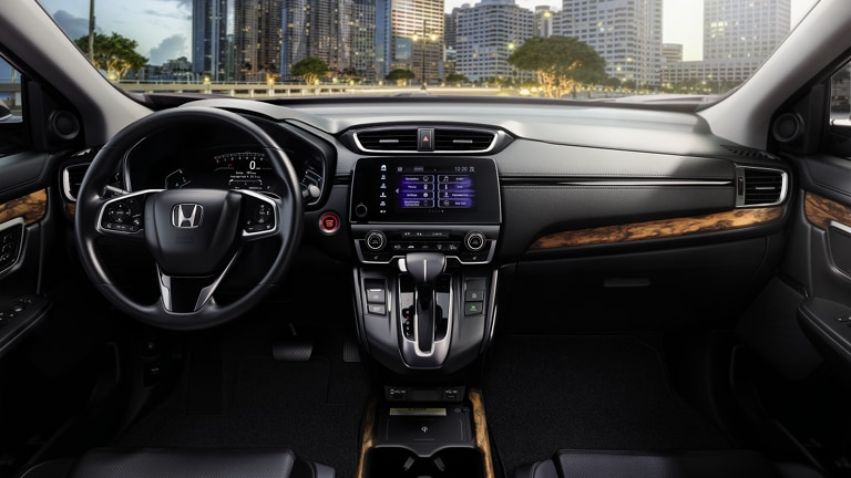 2020 Honda CR-V interior dashboard