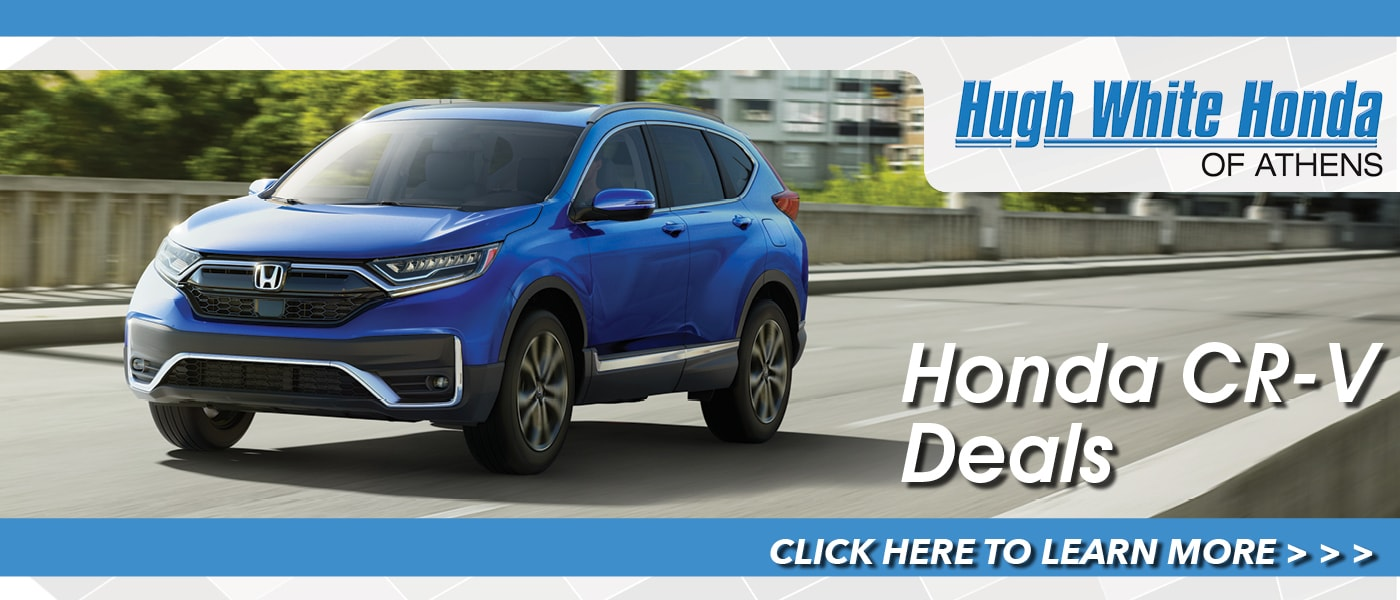 2020 Honda CR-V Deals banner