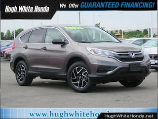 Certified pre-owned Honda vehicles 2016 Honda CR-V SE AWD SUV for sale near you in Columbus, OH