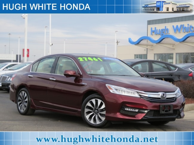 Certified pre-owned Honda vehicle 2017 Honda Accord Hybrid Touring Sedan For sale near you in Columbus, OH