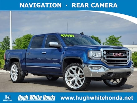 Featured pre-owned vehicles 2018 GMC Sierra 1500 SLT Truck Crew Cab for sale near you in Columbus, OH