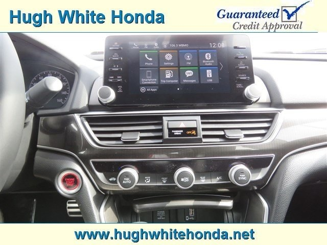 New 2019 Honda Accord For Sale at Hugh White Honda | VIN