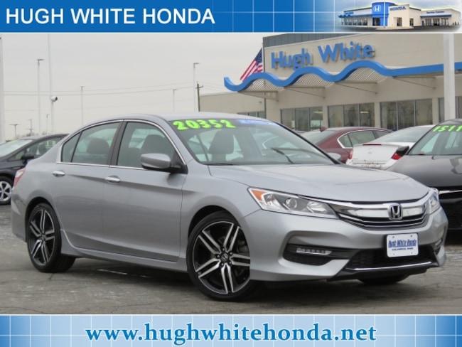 Certified pre-owned Honda vehicle 2016 Honda Accord Sport Sedan For sale near you in Columbus, OH