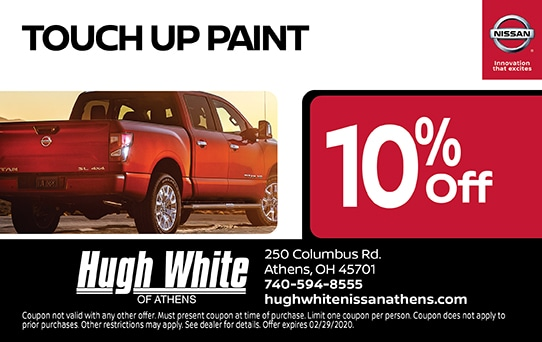 10% off Touch Up Paint