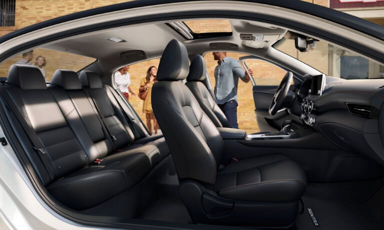 2021 Nissan Sentra interior seating