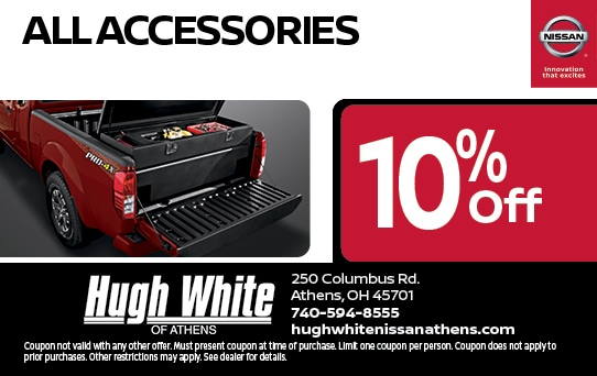 10% off Nissan Accessories