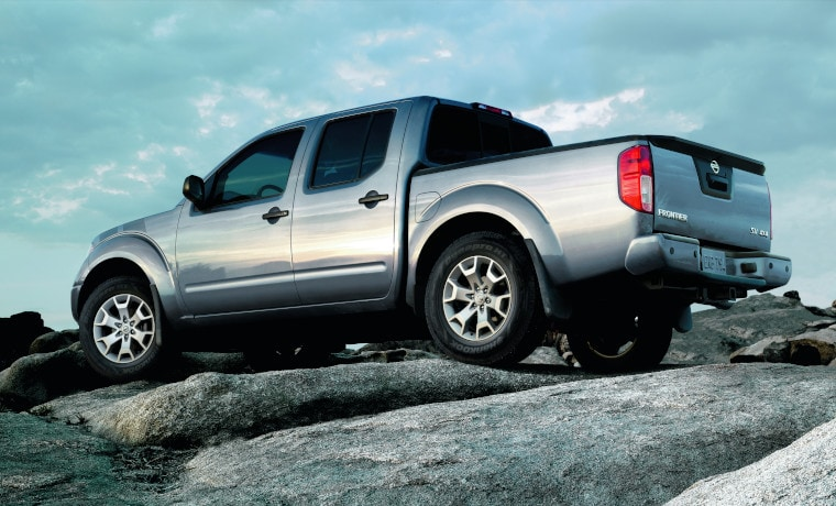 2020 Nissan Frontier on road
