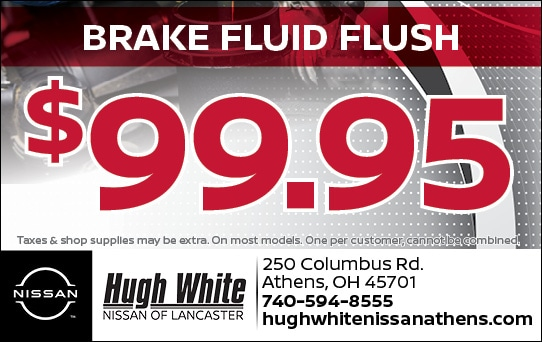 Nissan $99.95 Break Fluid Flush Coupons