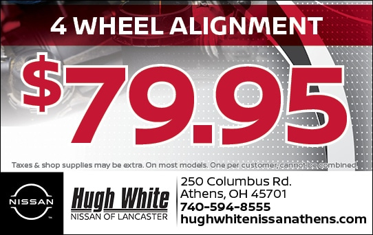 Nissan 4 Wheel alignment Coupons