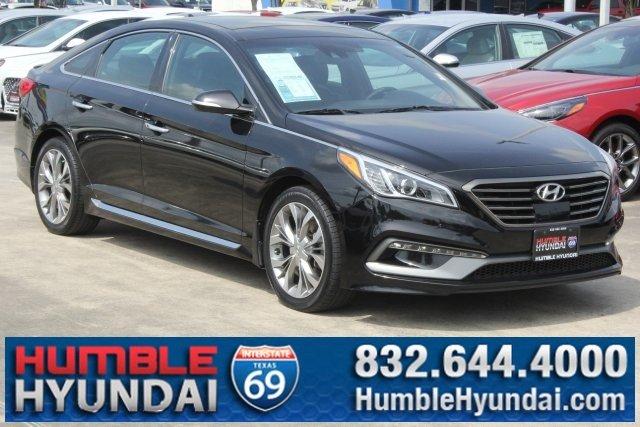 2015 Hyundai Sonata Limited 2.0T w/Gray Accents Sedan
