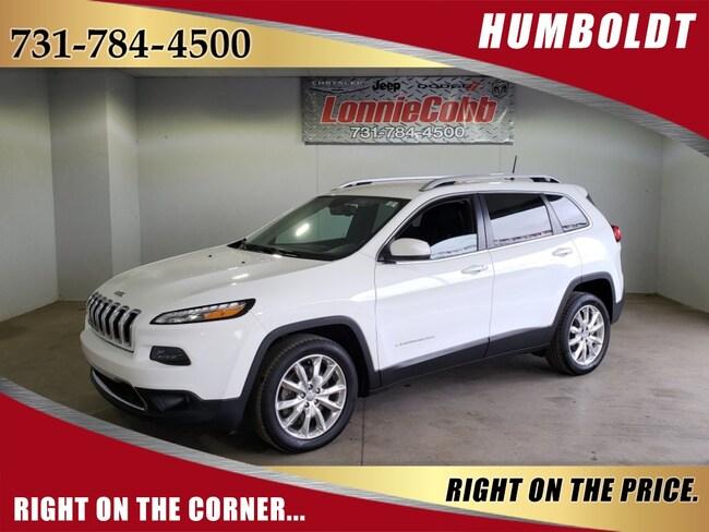 Used 2016 Jeep Cherokee Limited SUV Humboldt