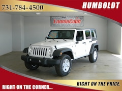 New 2018 Jeep Wrangler Unlimited WRANGLER JK UNLIMITED SPORT S 4X4 Sport Utility Humboldt, Tennessee
